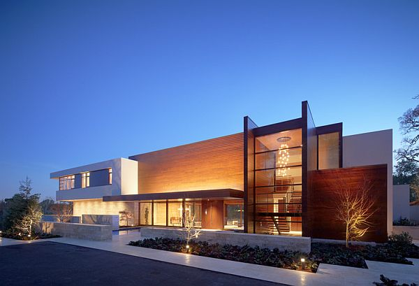 Modern High-Tech Mansion in California