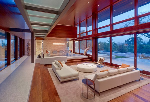 Modern High Tech Mansion In California