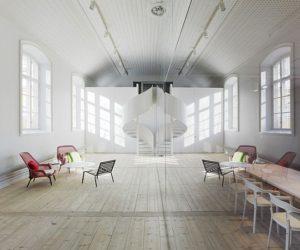 The No Picnic office by Jonas Elding and Johan Oscarson