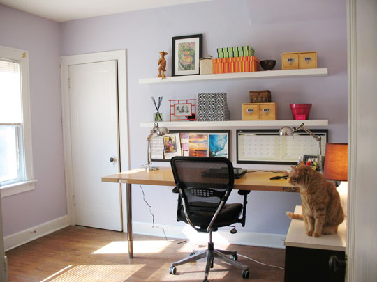 finished office makeover. Vintage Budget Office Makeover. Finished Makeover S