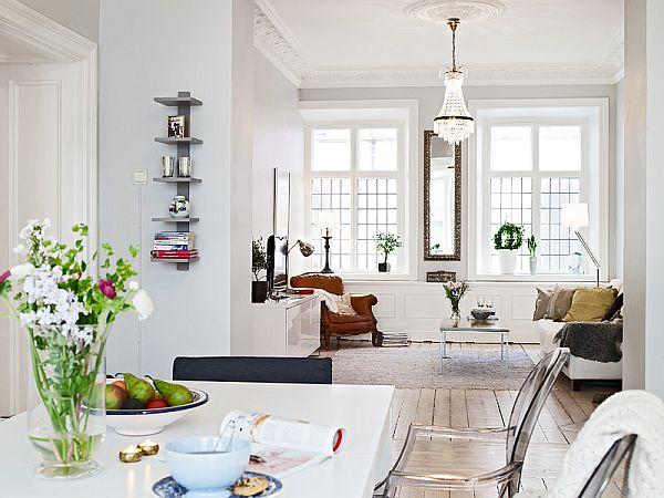 Open Floor Plan Apartment: Elegant 1889 Apartment With An Open Floor