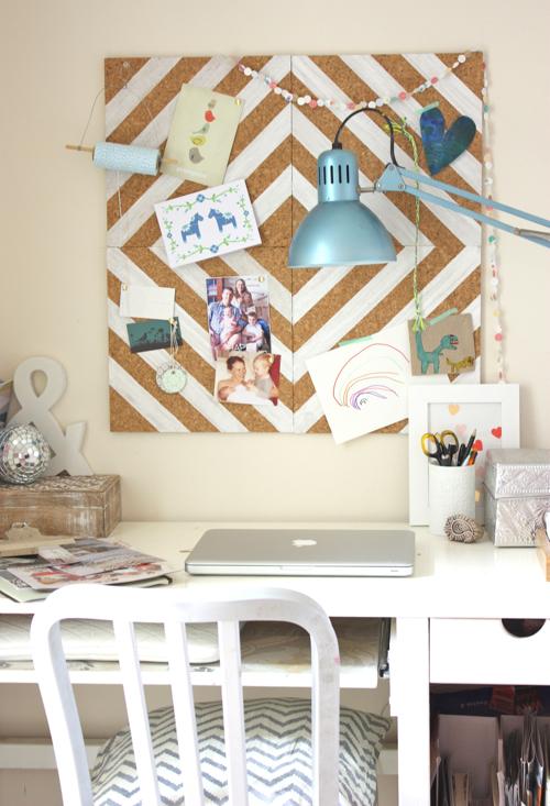 Painted Cork Board Diy