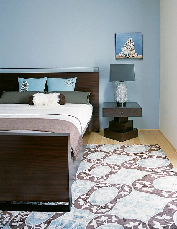 Pale blue interior design ideas