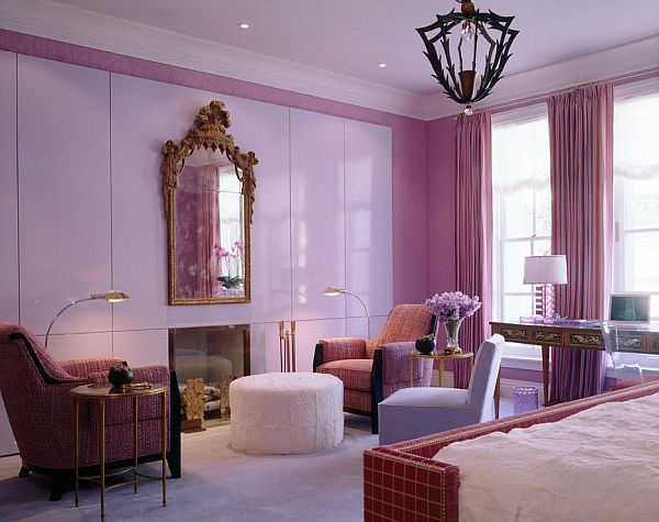 Elegant Purple Interior Design Ideas For Your Inspiration