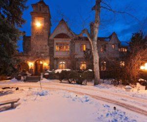 Baron's Walter Von Richthofen medieval castle in Denver