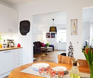 Four-room apartment with terrace in Gothenburg for sale
