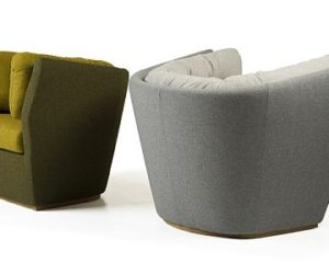 Warm and Friendly Hug Lounge Sofa by Leif.designpark