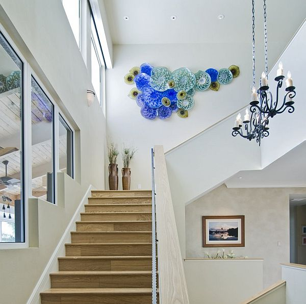 Ideas For Wall Decor On Stairs : Staircases design ideas