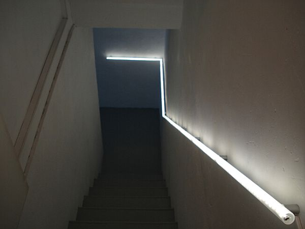 Lighting Basement Washroom Stairs: Interesting Handrail Options For Staircases That Stand Out