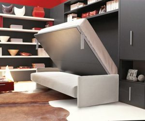 Another Pull-Down Wall Bed from Clei