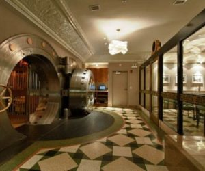 From a historic bank vault into a luxurious club