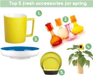 Top 5 fresh accessories for spring