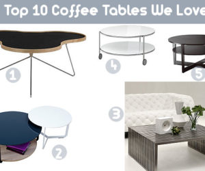 Top 10 Coffee Tables We Love
