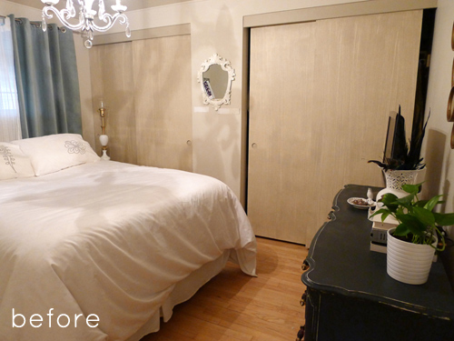 Matrimonio Bed You : Dramatic bedroom transformation with