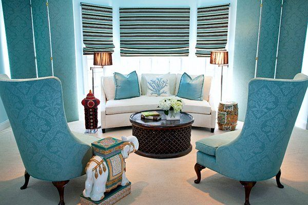 Turquoise interior design inspiration rooms for Interior design inspiration rooms