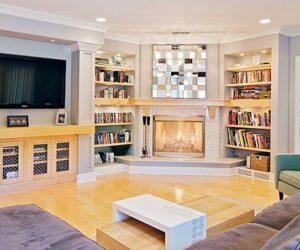 Beautiful turquoise interior design