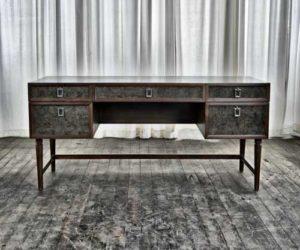 Living room desk made from North American Black Walnut