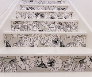 Creative stair risers for your house of joy