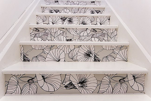 Creative Stair Risers For Your House Of Joy Nice Look