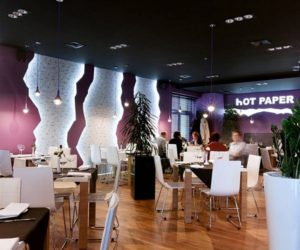 Hot Paper Restaurant Interior Design in Poland