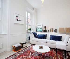 Minimalist 4-room apartment in Gåsgränd, Stockholm