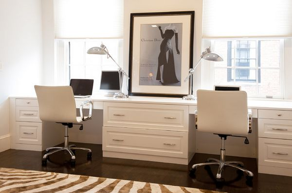 double office desk. double desk home office 16 ideas for two e