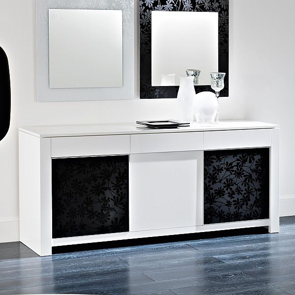 Ordinaire The Modern White Domitalia Bass Buffet