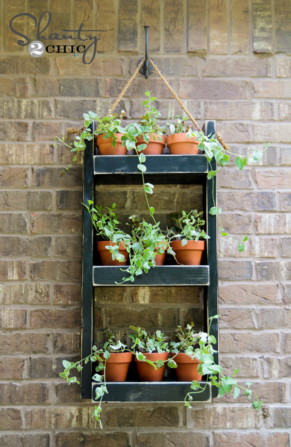 wood planter design