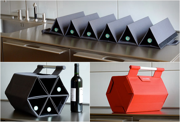 Modern Wine Carrier From Zebag