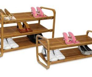 Oceanstar Bamboo Shoe Rack