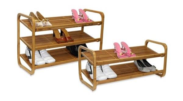 Superb Oceanstar Bamboo Shoe Rack Ideas
