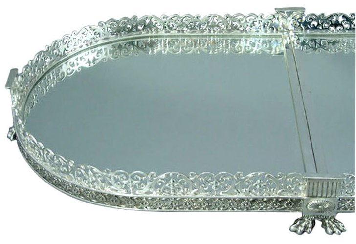 Attractive Silver Plated Plateau Nice Ideas