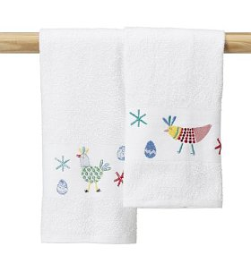 These Towels Are Made Of Fine Quality Cotton, So They Are Very Absorbent,  Which Is Very Important For A Kitchen Hand Towel. Then They Have A Very  Nice ...