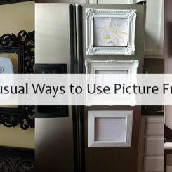 5 Unusual Ways to Use Picture Frames