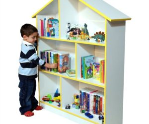 The playful Venture Horizon bookcase for kids