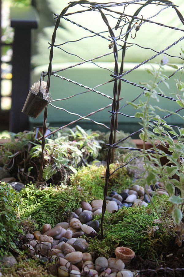 Diy Miniature Tabletop Garden