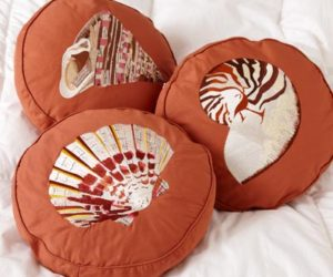 Awesome ... Your Home · Embroidered Shell Decorative Throw Pillows Nice Ideas