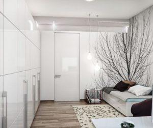 Modern multifunctional apartment
