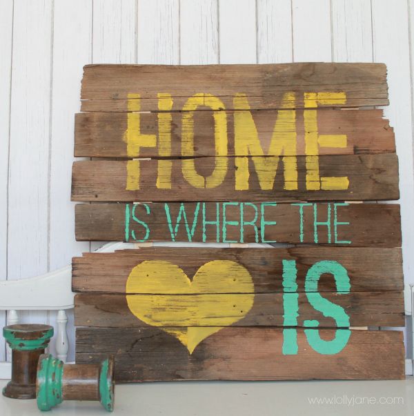 DIY home is where love is