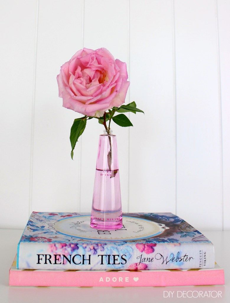 DIY perfume bottle vase