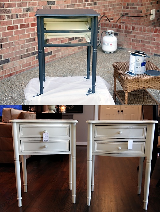 Easy night stand paint