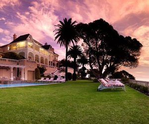 Ellerman House located on Bantry Bay in Cape Town