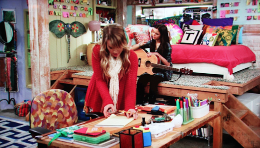 Good Luck Charlie Home Interior