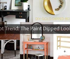 Hot Trend The Paint Dipped Look