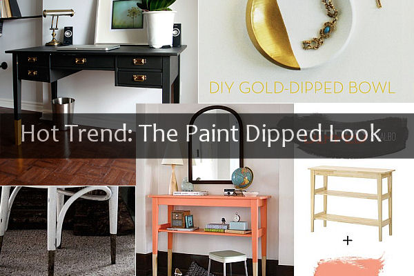 Hot Trend: The Paint Dipped Look