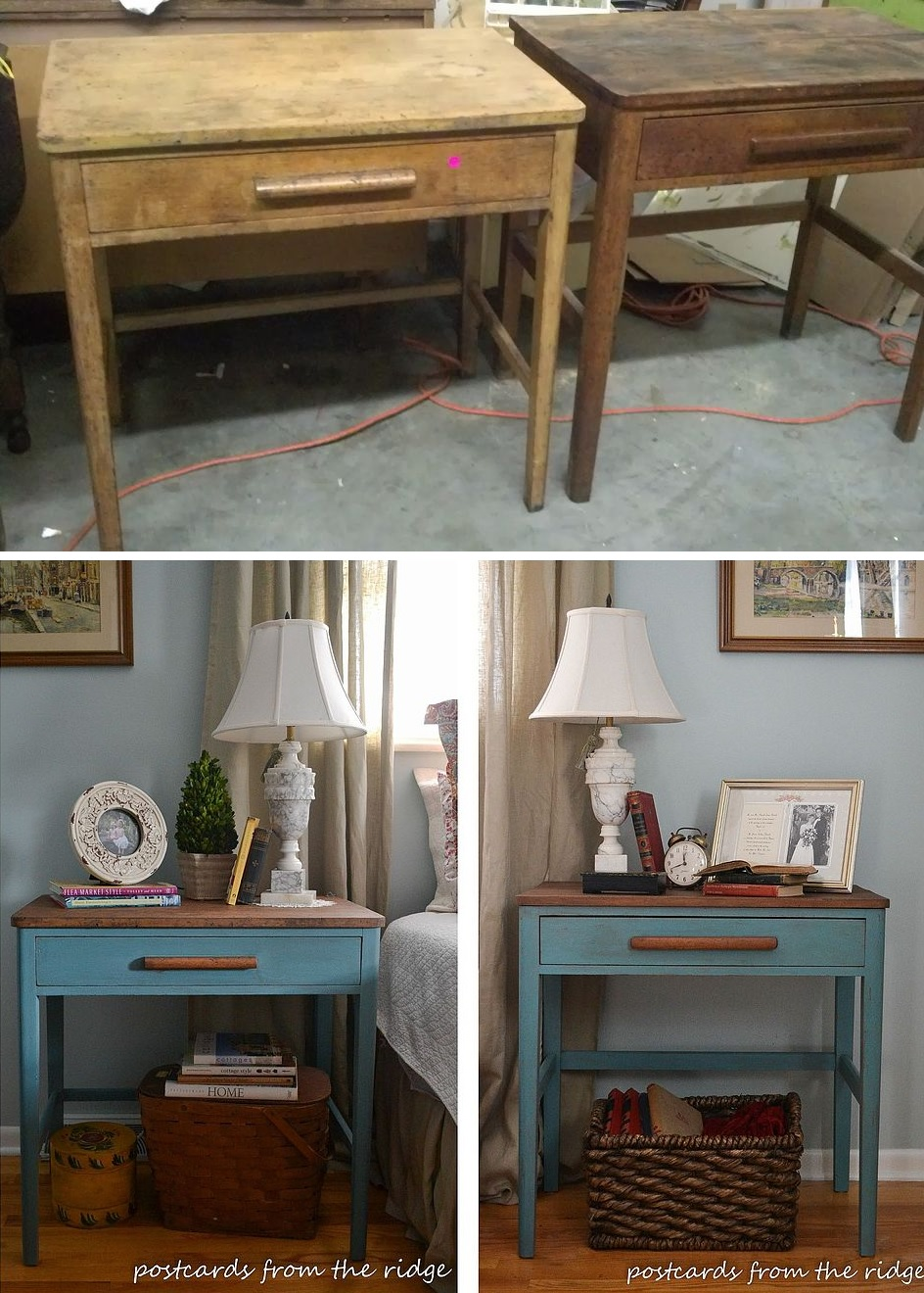 How to revamp old night stands