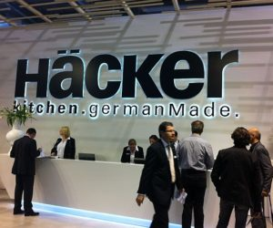 Hacker kitchen.germanMade Stand from Salone del Mobile, Milan 2012