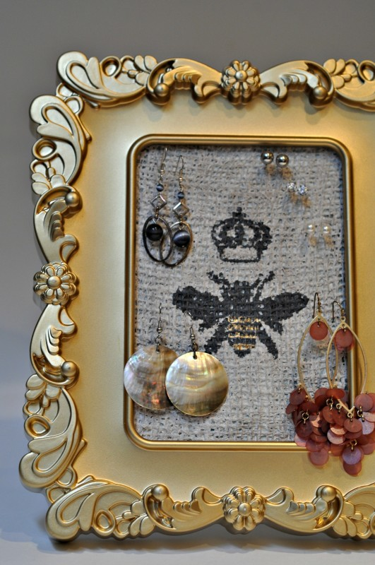 Jewelry gold frame