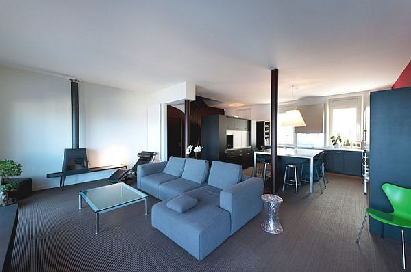 New Redesigned Residence In Marseilles By Maurice Padovani Montredon - The-unusual-cedar-residence