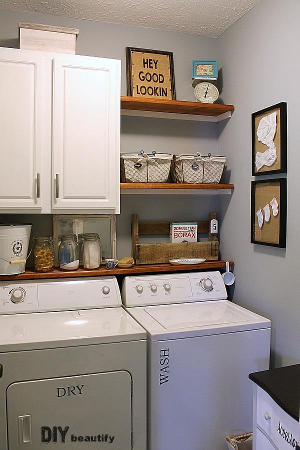 Laundry room design makeover